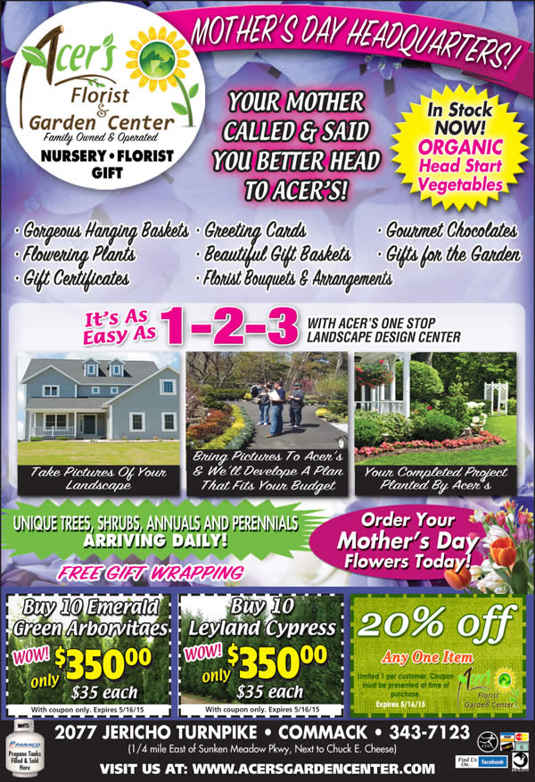 Mother's Day Flowers and More
